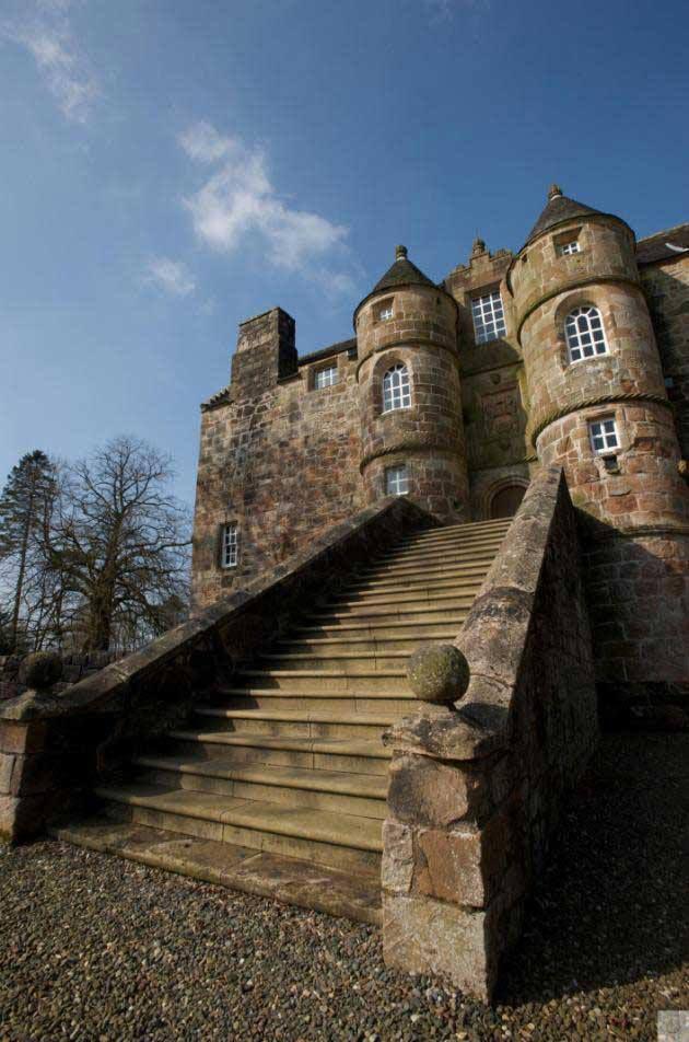 Rowallan Castle, Ayrshire, Scotland