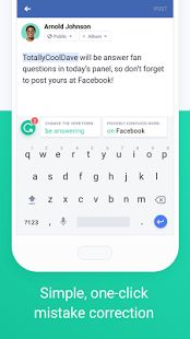 Grammarly Keyboard — Type with confidence- screenshot thumbnail