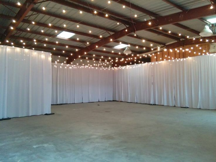 Pipe and Drape is a great way to dress up a room!