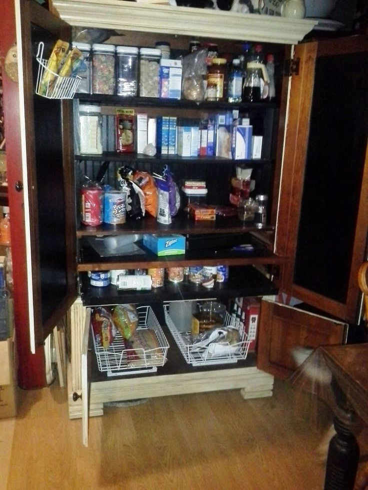 1000 Ideas About Armoire Pantry On Pinterest Pantry