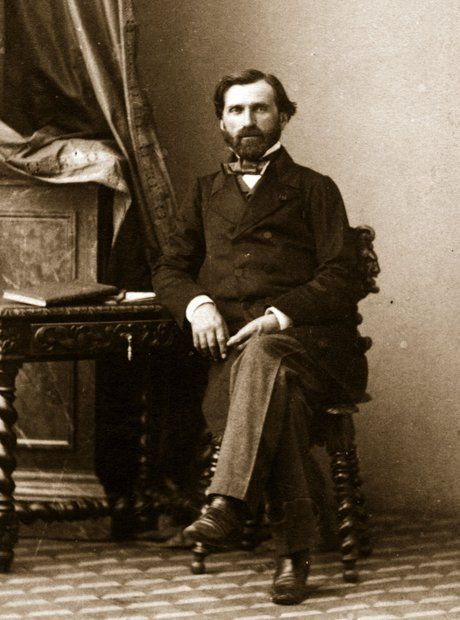 Giuseppe Verdi - great photo of the prolific Italian composer.