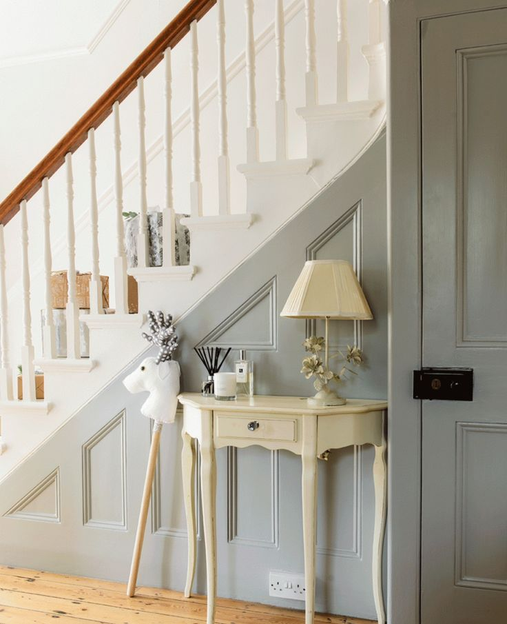 Grey Panelling Under Stairs: 75 Best 1930's Houses & Front Doors Images On Pinterest