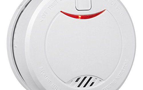 Heiman® Alarme Détecteur de fumée Durée de vie 10ans Batterie au lithium intégrée Détecteur de fumée avec capteur photoélectrique 626phs:…