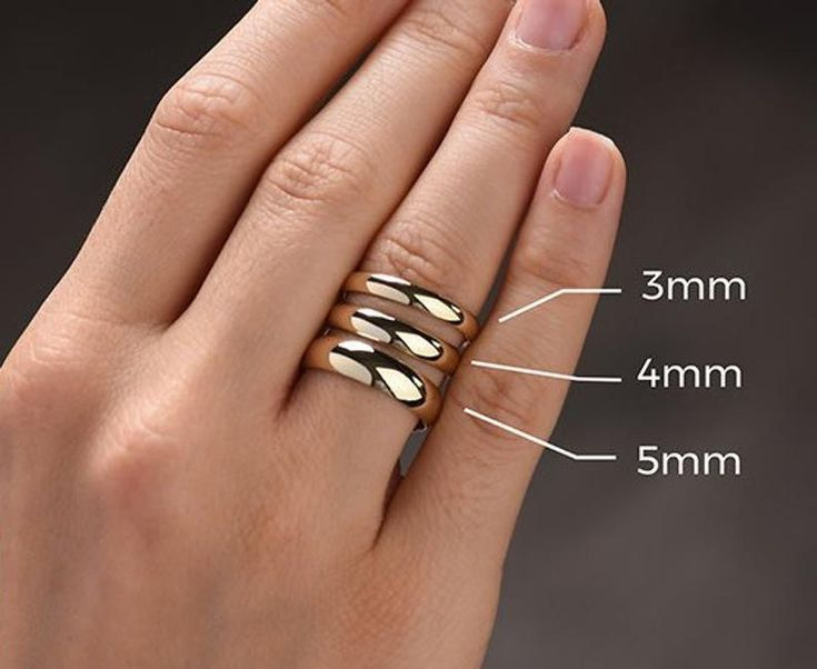 Chinese Ring For Women Woman Birthday Gift Custom Chinese Etsy In 2021 Handmade Gold Ring Wedding Rings For Women Personalized Wedding Rings