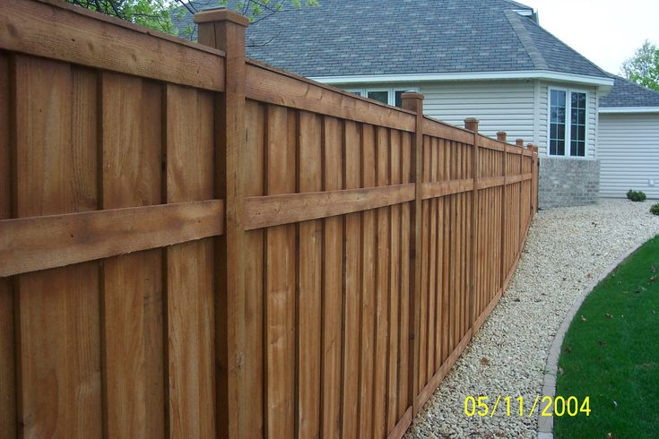 privacy fence for decks | fence deck this is a western red cedar closed shadow box style fence ...