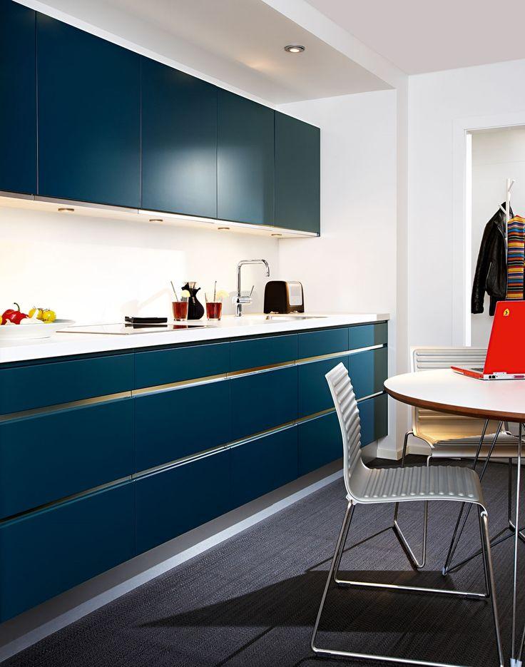 Blått kök - Line | Ballingslöv