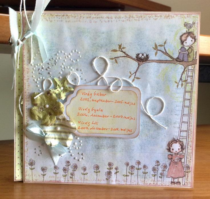 ajándék minialbum ovis ballagásra az óvónéniknek
