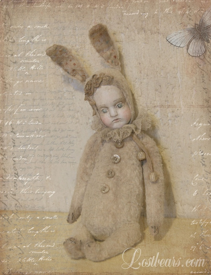 rabbit doll - Lost Bears