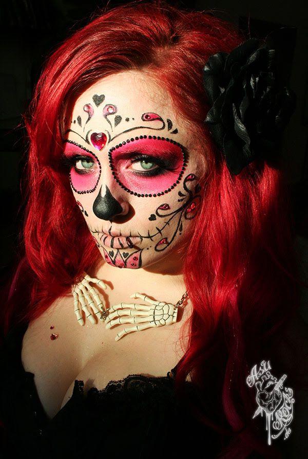 Face Paint Skull Simple