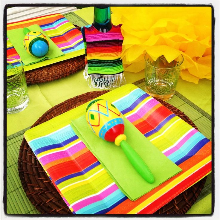 1000 ideas about party table decorations on pinterest for 5 de mayo party decoration