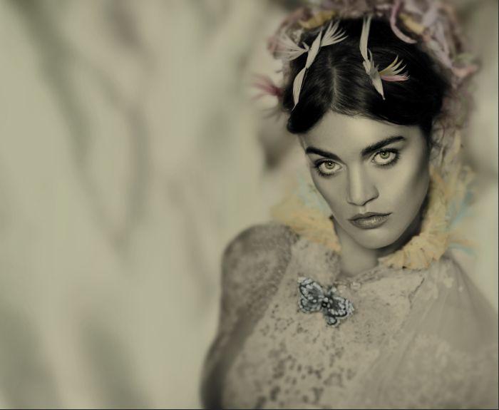 Exaltación del vintage intervenido Atelier Marisa Campanella Novias Argentina
