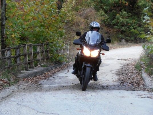 Suzuki vstrom 650, Kroussia mountain, Kilkis,  Greece