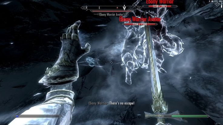 Defeating Ebony Warrior on Legendary difficulty. #games #Skyrim #elderscrolls #BE3 #gaming #videogames #Concours #NGC