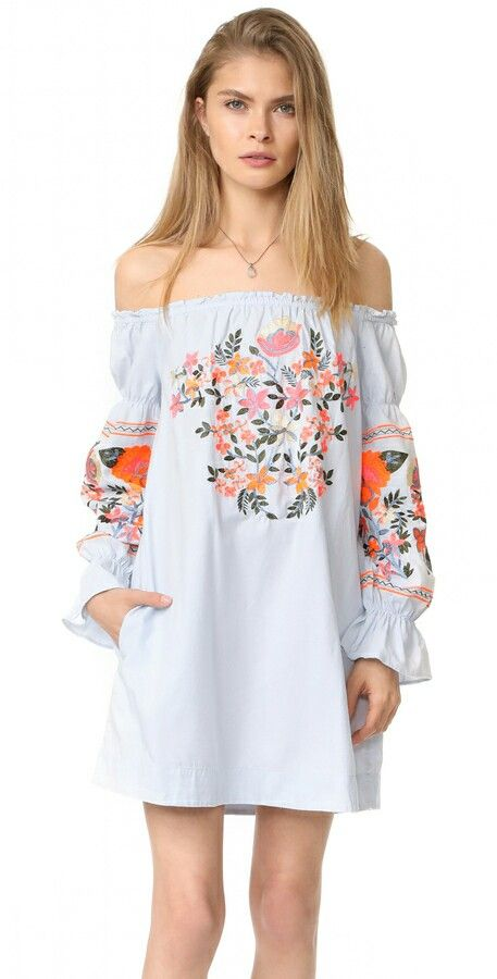 What a lovely hippie summer  dress! The colours give such a relaxing vibe.