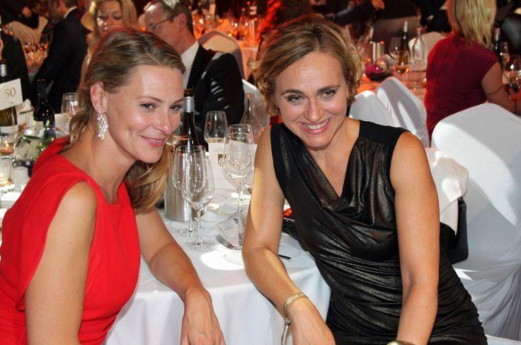 Anja Reschke und Caren Miosga. Foto: Silke Liebig-Braunholz