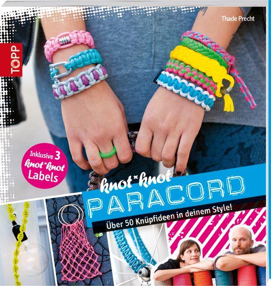 knot*knot Paracord  Armbänder, Taschen, Umwickler für Fahrräder, Tische und Kabel