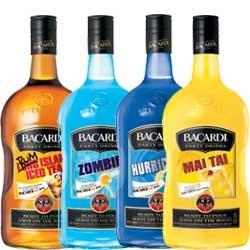 Bacardi Rum Mixers