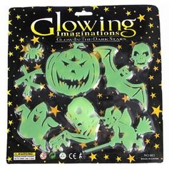 Eye-catching Plastic Halloween Fluorescence Tags
