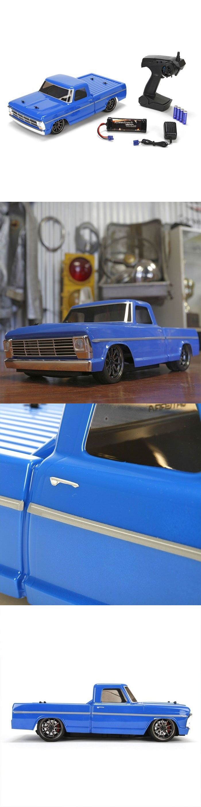 Cars Trucks and Motorcycles 182183: New Vaterra 1968 Ford F-100 1 10 Rc Pickup Truck Rtr Combo - Free Shipping -> BUY IT NOW ONLY: $249.99 on eBay!
