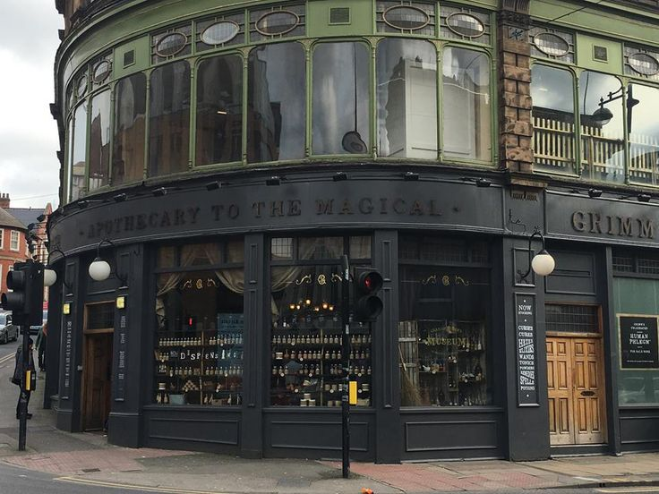 Rotherham gets a touch of class. Grimm & Co, apothecary to the magical. Fabulous place!