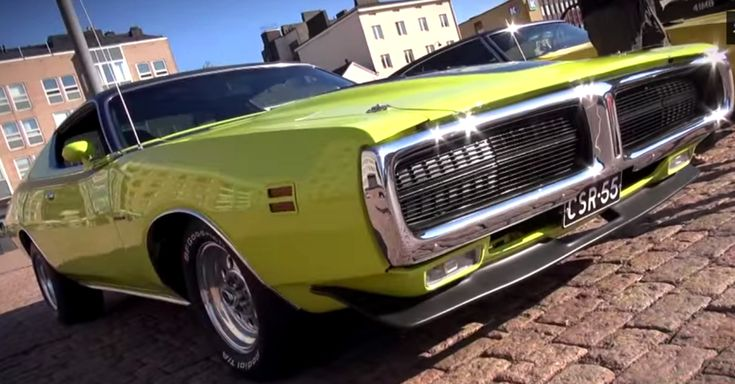 Super Mean 1971 Dodge Charger Super Bee 440 six pack Big Block Mopar Muscle Car. Double click to see the video