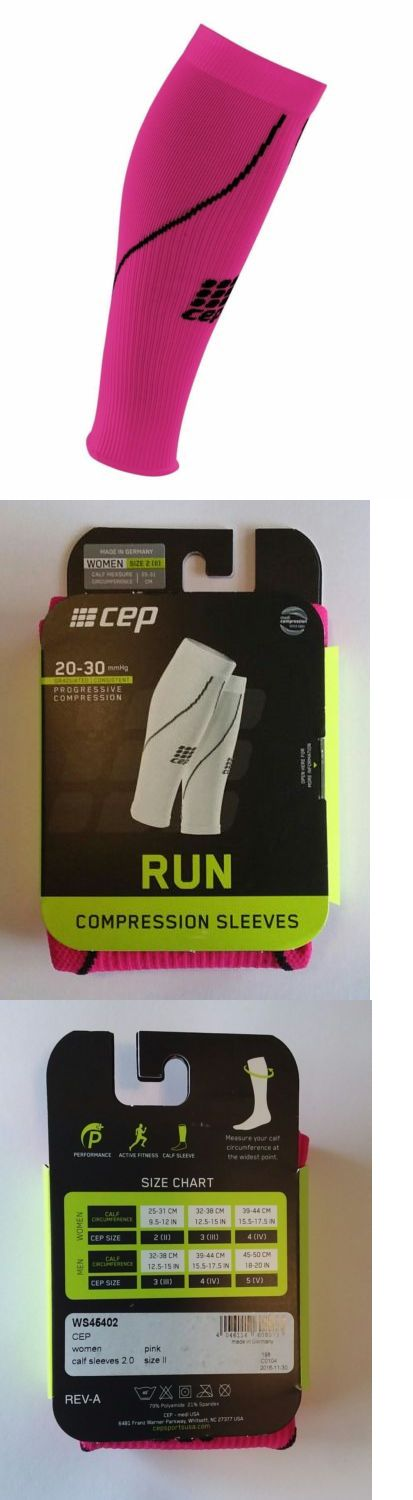 Compression and Base Layers 179822: Cep Women S Compression Calf Shin Sleeves Size 2 Pink -> BUY IT NOW ONLY: $32 on eBay!