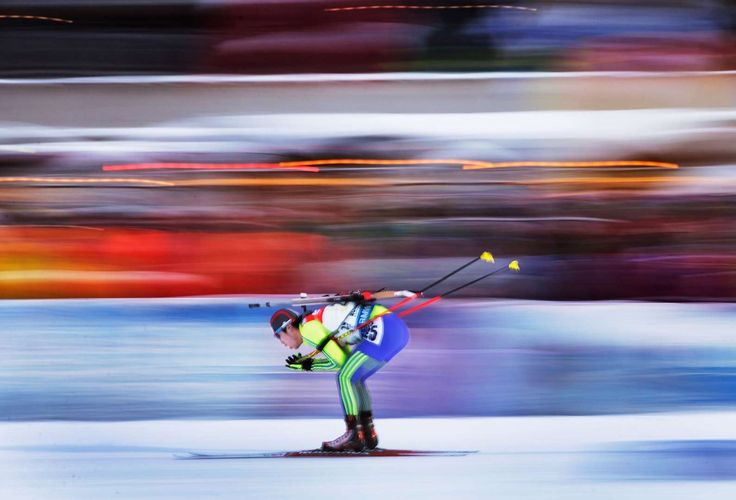 The best sports pictures of 2016:     Yonggyu Kim of South Korea in action during the Men's 4 x 7.5 km relay at the Ruhpolding IBU Biathlon World Cup on Jan. 15 in Ruhpolding, Germany
