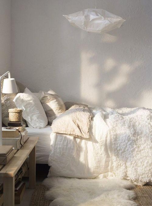 Steal This Look: Serene Scandinavian Winter Bedroom