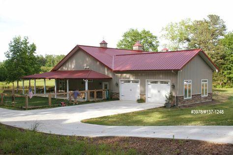 Projects | Morton Buildings Pole Barn Home