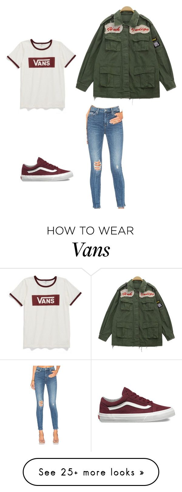 """Sans titre #115"" by cflowerb on Polyvore featuring Vans, Lovers + Friends and Chicnova Fashion"