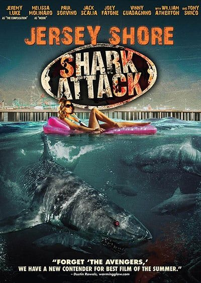 Shark Film Posters: Jersey Shore Shark Attack