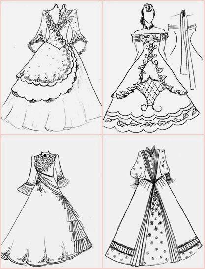 vestido de prenda desenho - Pesquisa Google