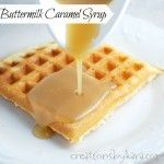 var r = document.URL; This caramel syrup recipe is going to change your life. OK, maybe that is a bit of an exaggeration, but it is going to change your breakfast. I've been making this syrup for years, and everyone who tries it loves it. I serve it with waffles and every type of pancake that I