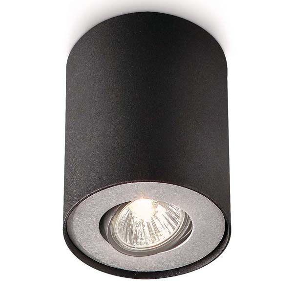 PILLAR 1X35W GU10 Přisazené stropní bodové svítidlo (2 varianty)   svetlo-svitidla-osvetleni.cz