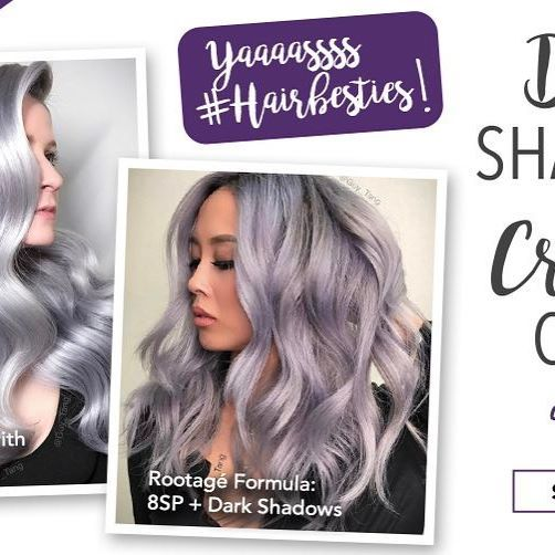 #HairBesties!!!! Crystal Clear and Dark Shadows are now available online exclusive first on MydentityColor.com with link on bio❤Place your orders now. 😀Going live on FB Guy Tang Hair Artist at 10am pacific time!