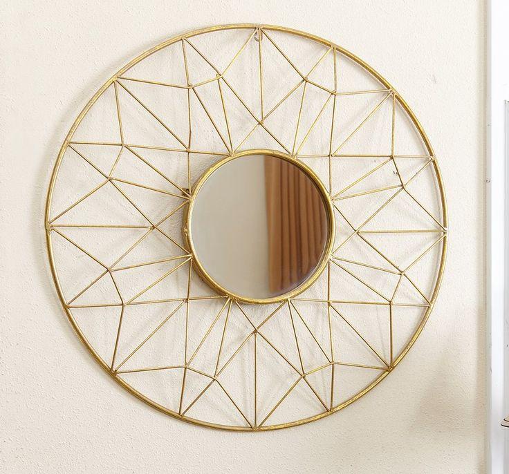 Jada Round Oversized Wall Mirror & Reviews   Joss & Main