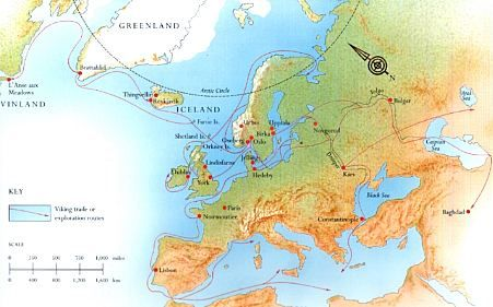 norse expansion into north america Archaeological evidence suggests the norse, or vikings, took a voyage to notre dame bay in newfoundland 1,000 years ago and contacted the new world new north america viking voyage discovered.