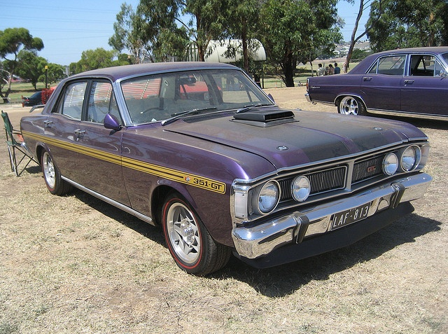 1971 Ford Falcon XY GTHO Wild Violet by Sicnag, via Flickr