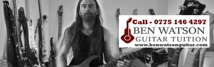 Looking for top class Guitar tuition center in Clacton. Contact to Ben Watson Guitar.
