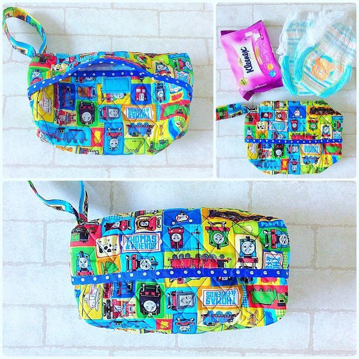 Diaper Bag for Boys   Thomas the Train Design