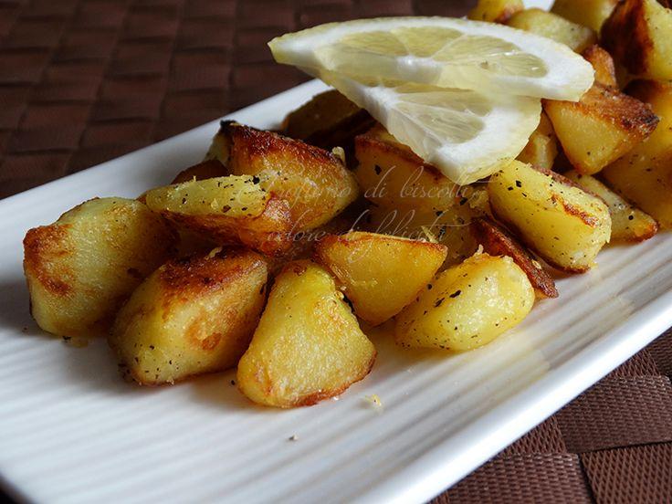 Patate pepe e limone | #vegan #vegetarian