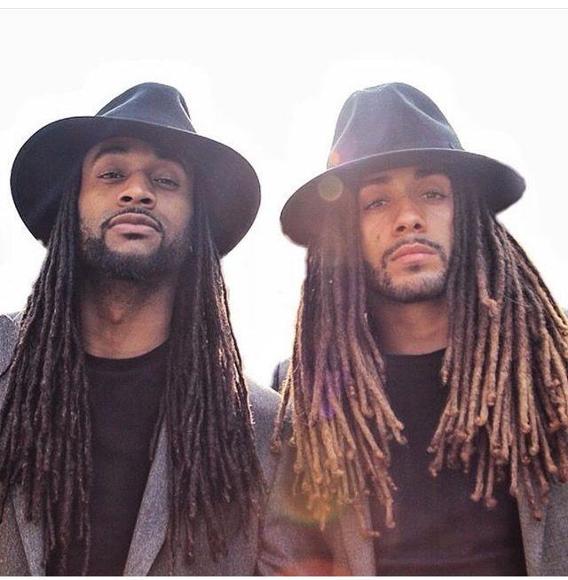 @iamgreyroom    men's hair. Men's Locs. Men with Locs. Locs and fedoras