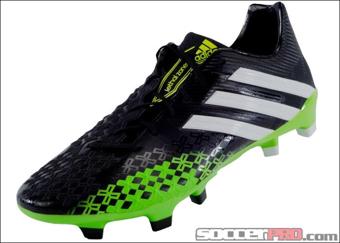 cheap for discount eb318 daa69 ... adidas Predator LZ TRX FG Soccer Cleats - Black with Ray Green... 197.99
