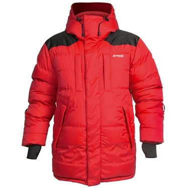 Bergans of Norway  Expedition Down Parka Red/Black M