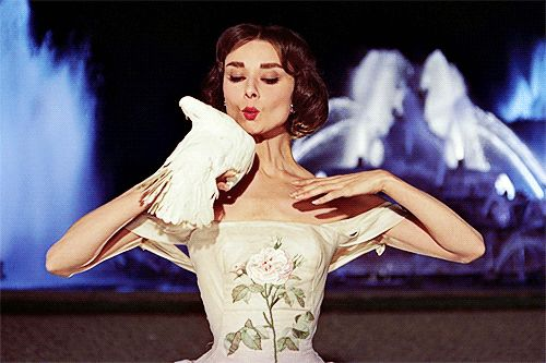 Susan this made me think of you when dealing with contrarians. Audrey Hepburn in Funny Face (Stanley Donen, 1957)