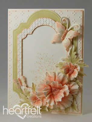 Heartfelt Creations | Poppies And Butterflies