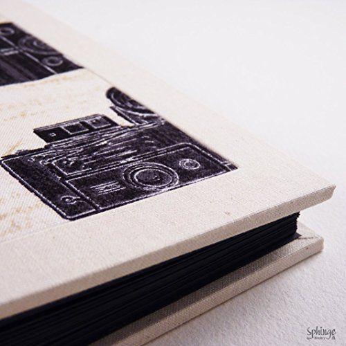 Álbum de fotos para pegar, artesanal, formato cuadrado, Polaroid, Instagram: Amazon.es: Handmade