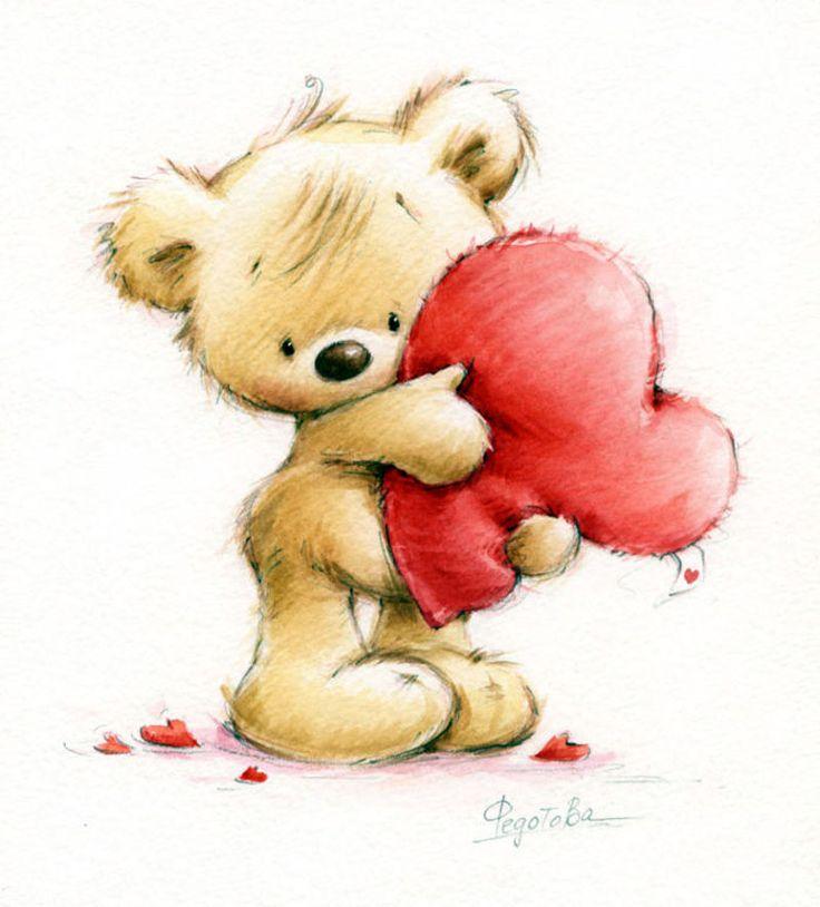 Картинки мишек с любовью