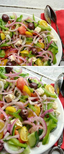 The ever popular Greek Salad gets a small makeover and it is scrumptious ! Definitely a salad recipe you need to add to your collection, especially when you have a BBQ !