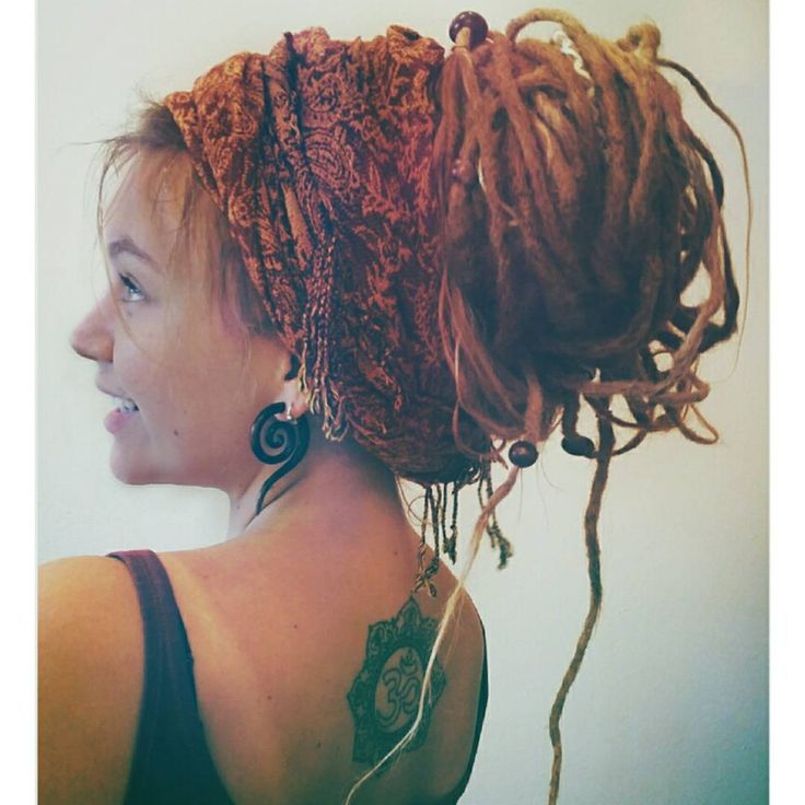 Dreadlock Updo!